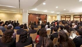 Kapellet i den nye Scientologi-organisasjonen for Mexico tjener menighetsmedlemmer og gjester til søndagsandakter, bryllup, navngivningsseremonier og andre begivenheter.