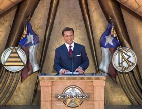 David Miscavige, kirkelig leder av Scientologi-religionen, stod for åpningsseremonien av Scientologikirken Dallas hvor han sa at Texas' drømmer om åndelig frihet ville bli virkeligjjort.